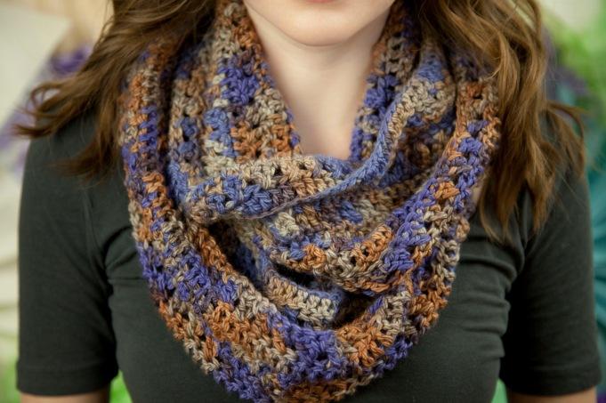 Cross-stitch scarf 1