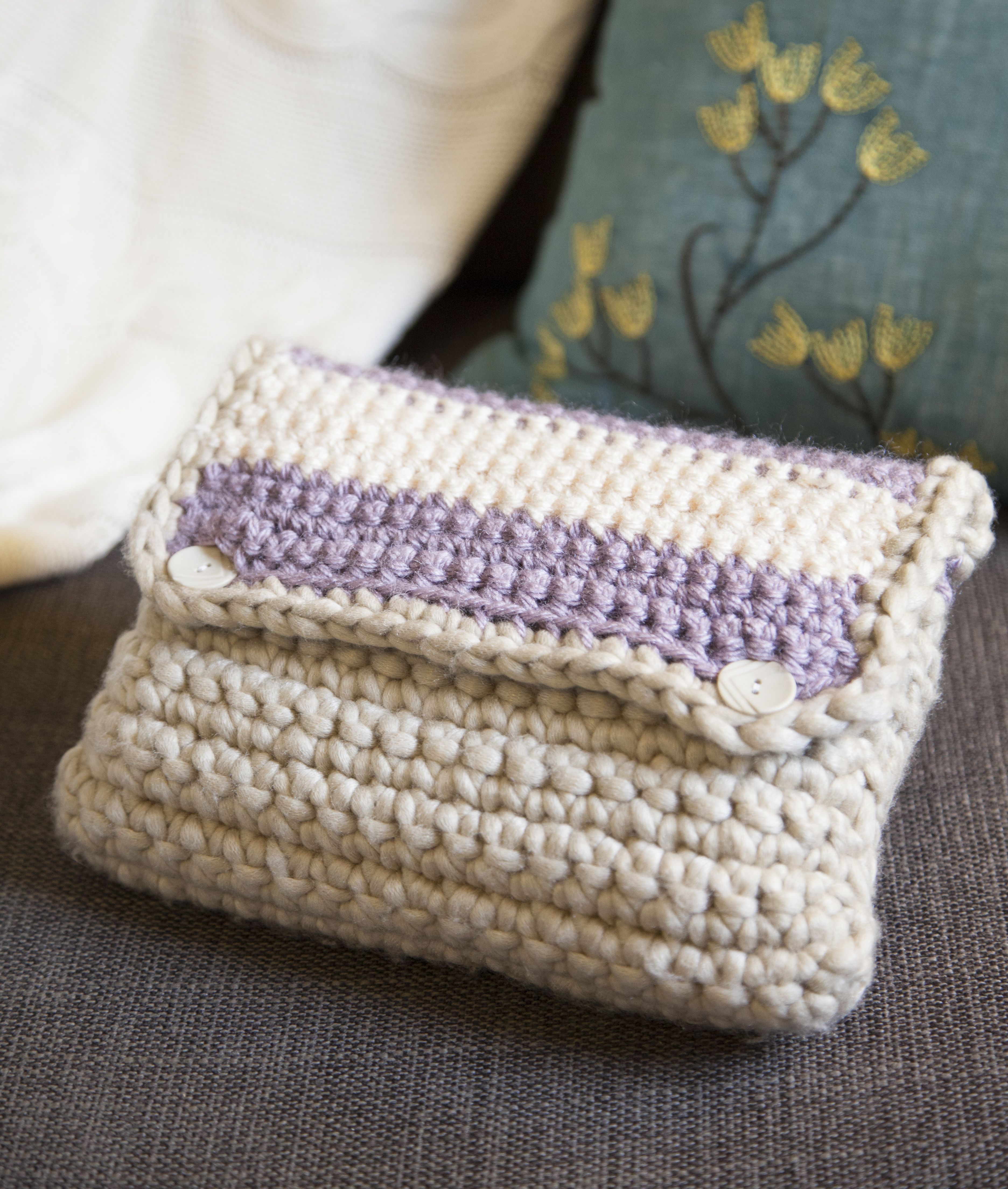 Crocheted Case grannysquaredontcare